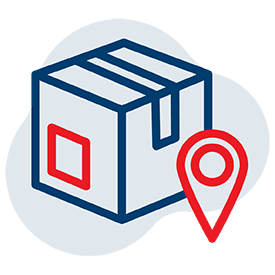 Point2Point Global - Web Icon, Standard Mail